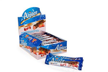 Bar Çikolatalar ALPLER STRAWBERRY