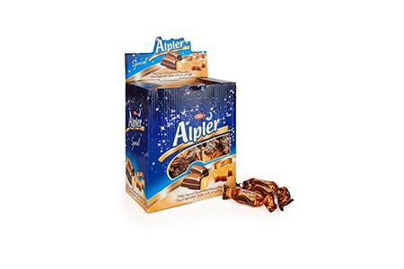 Bulk Çikolatalar DOUBLE TWIST ALPLER CARAMEL
