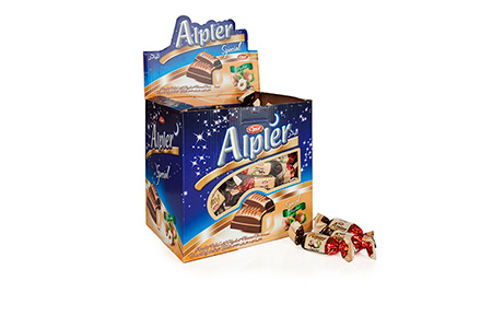 GIFT Çikolatalar DOUBLE TWIST ALPLER HAZELNUT