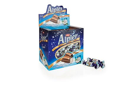 GIFT Çikolatalar DOUBLE TWIST ALPLER COCONUT