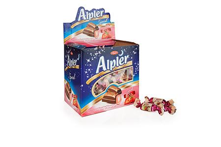 GIFT Çikolatalar DOUBLE TWIST ALPLER STRAWBERRY