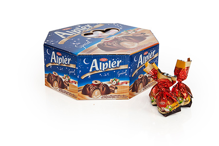 GIFT Çikolatalar ALPLER OCTAGONAL HAZELNUT