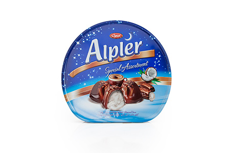 GIFT Çikolatalar TIN ALPLER COCONUT