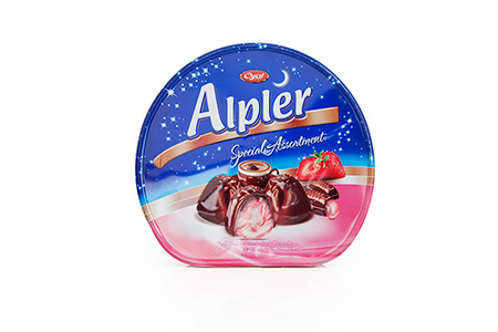 GIFT Çikolatalar TIN ALPLER STRAWBERRY