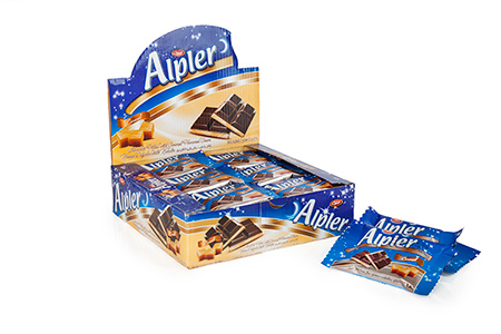 Tablet Çikolatalar ALPLER CARAMEL