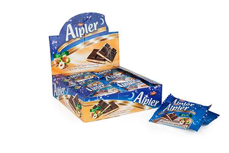 Tablet Çikolatalar ALPLER HAZELNUT