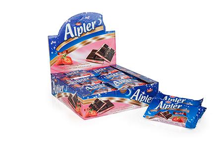 Tablet Çikolatalar ALPLER STRAWBERRY