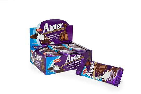 Tablet Çikolatalar ALPLER MILKY BLUE