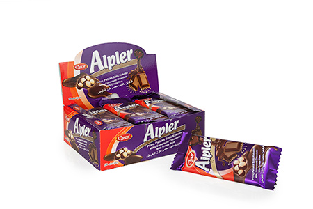 Tablet Çikolatalar ALPLER MILKY RED