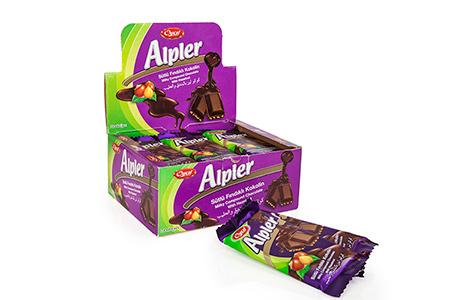 Tablet Çikolatalar ALPLER MILKY GREEN